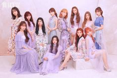 IZ*ONE will release their second Korean EP titled HEART*IZ on April and they released two sets of concept/teaser photos. See the photos of the IZ*One members below! Kpop Girl Groups, Korean Girl Groups, Kpop Girls, Yuri, K Pop, Eyes On Me, Gfriend Sowon, Bridesmaid Dresses, Prom Dresses