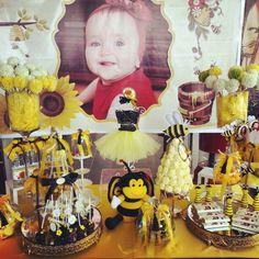 Arı consept doğum günü