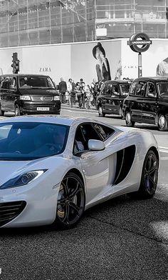 Mc Laren #car #white