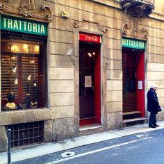 Trattoria da Pino a great place to spend your #mondaysinmilan. Milan, Italy