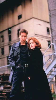 Personal life and work of FBI special agents Fox Mulder and Dana Scully who specialize in mysterious unsolved crimes. The X Files, Gillian Anderson David Duchovny, David And Gillian, Dana Scully, Women In History, Looks Cool, Filing, Favorite Tv Shows, Movies And Tv Shows