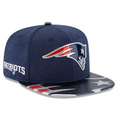 New England Patriots New Era Youth 2017 NFL Draft On Stage Original Fit  9FIFTY Snapback Adjustable de5e31daa