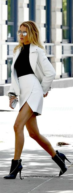 Street style - Blake Lively ♥ na - very shiekh... HotWomensClothes.com