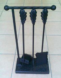 zestaw kominkowy  przybory akcesoria kominkowe
