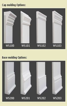 Baseboard Styles Every Homeowner Should Know About, Tags: baseboard styles floors, baseboard styles wood trim, baseboard styles crown moldings, baseboard styles woodwork Baseboard Styles, House Design, Home, Remodel, Diy Home Improvement, Home Remodeling, Wainscoting, Interior Trim, House Trim