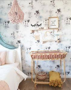 A nursery design trend in 2020 that continues to grow in popularity is the use of natural organic materials, particular rattan nursery decor. Rattan Furniture, Nursery Furniture, Kids Furniture, Nursery Decor, Bali Baby, Baby Changing Tables, Cool Kids Bedrooms, Nursery Design, Bebe