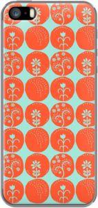 Dotty Papercut in Orange By Anneline Sophia for iPhone 5/5s