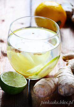 Herbata imbirowa - lekarstwo na wszystko Summer Drinks, Punch Bowls, Ale, Smoothies, Panna Cotta, Food And Drink, Remedies, Health Fitness, Homemade