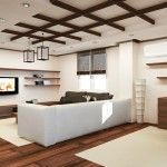 Wooden Beams On Bedroom Ceiling2015 Birmingham Parade Of Homes Delectable Wooden Ceiling Designs For Living Room Design Inspiration