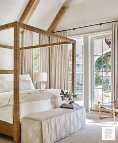10 Favorite Beth Webb Designed Bedrooms - Design Chic Harrison Design, Guest Room Decor, Island Design, Building A New Home, House And Home Magazine, Interior Design, Home Decor, Interiors, Sea