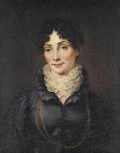 ca. 1815 Herzogin Charlotte von Sachsen-Hildburghausen, née Mecklenburg-Strelitz, by Heinrich Vogel
