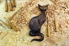Black Cat by kadirulus on Etsy