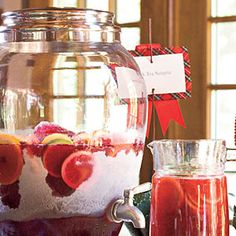 1 gal wine, 1 (12 oz) can limeade, 1 (2 lt) sprite or gingerale...freeze in baggies. thaw one hour...graduation party