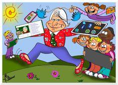 Resultado de imagen de libros y dibujos de gloria fuertes Family Guy, Comics, School, Fictional Characters, Spanish, Art, Book Week, Poetry For Kids, Literatura