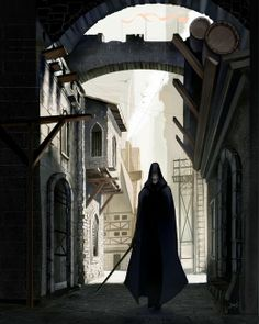 Robert Jordan - Wheel of Time Art :: Jeremy Salima, artist :: Fade in Whitebridge