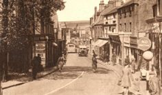 High Street, Newhaven, part of The Rother Valley Trail Newhaven, Old Photos, Trail, Cinema, England, Street View, History, 1930s, Pictures