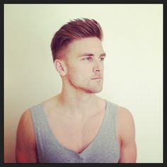 fade/undercut. God i love this on a man.