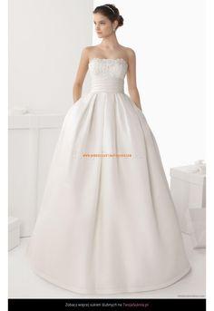 Robe de Mariée princesse avec poches traine longue boléro