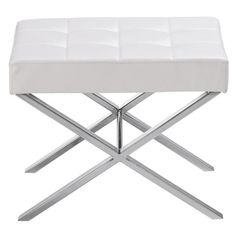two of these at the end of the bed- Sunpan Modern Mercer Bench