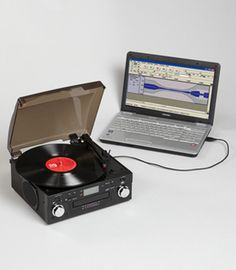 USB turntable with CD player.....