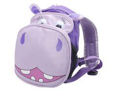 3D Hippo Jnr Backpack 19849