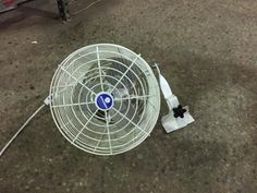 TENT FAN FOR HOT SUMMER DAYS!