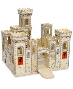 Melissa and Doug Kids Toys, Folding Medieval Castle