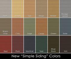 James Hardie Siding Color Combination Exterior Design