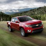 New V-6 8-Speed Automatic Lead Changes for 2017 Chevrolet Colorado