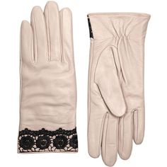 Dorothy Perkins Mesh Lace Trim Gloves (2.215 ISK) ❤ liked on Polyvore featuring accessories, gloves, grey, gray leather gloves, dorothy perkins, gray gloves, leather gloves and grey gloves