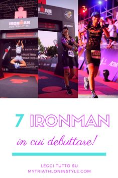 7 gare in cui debuttare Triathlon, Iron Man, Challenge, Swimming, Running, Movies, Movie Posters, Style, Marathon