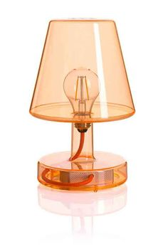 Into this--> Battery powered #vintage-looking indoor-outdoor #lamp by @fatboyoriginal.   #outdoor #lighting #MO2016 @maisonobjet