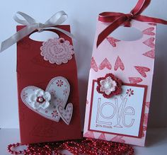 stamping up north: Valentine projects