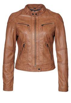 Oakwood - Leather jacket - brown