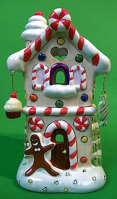 Gingerbread candy shop luminary