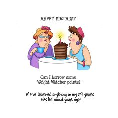 Art Impressions Girlfriends Cling Rubber Stamp, Out To Lunch Set, Multicolor Free Happy Birthday Cards, Happy Birthday Pictures, Birthday Greetings, Birthday Wishes, 50 Birthday, Humor Birthday, Birthday Parties, Art Impressions Stamps, Crazy Friends