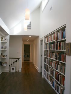 Elegant Green Home Design Interior Decoration: Cozy Home Library Large Bookcase Northfield Green Home