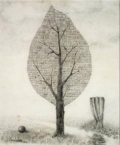 René Magritte(1898-1967) La geante 1936
