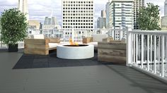 Havwoods HO604 Anti-Slip Slotted Composite Decking Boards