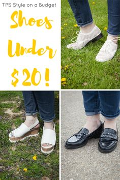 TPS Style on a Budget: Shoes under $20! - The Perfect Storm