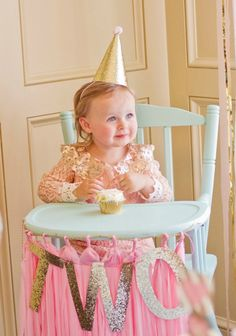 Bridgets Pink And Gold 2nd Birthday Party