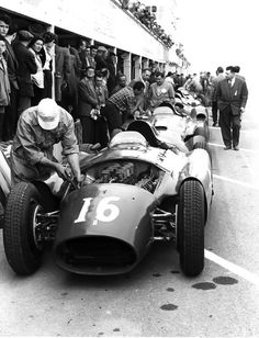 1956 Ferrari D50 at French GP