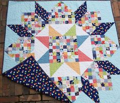 Patchwork Swoon – Happiness in the Making Big Block Quilts, Star Quilt Blocks, Star Quilts, Scrappy Quilts, Quilt Block Patterns, Mini Quilts, Jellyroll Quilts, Quilt Baby, Quilting Projects