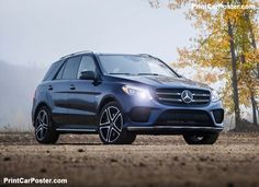 Mercedes-Benz GLE43 AMG [US] 2017 poster, #poster, #mousepad