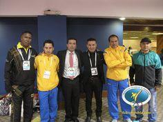 Delegados nacionales y entrenadores
