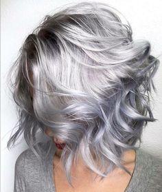 Best brands of purple shampoo - Trend Silver Hair Makeup 2019 Lila Shampoo, Shampoo For Gray Hair, Hair Shampoo, Pelo Color Plata, Best Purple Shampoo, Purple Shampoo For Blondes, Hair 2018, Hair Looks, Hair Inspiration