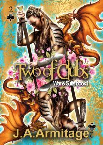 Out Now—Two of Clubs by J.A. Armitage (@armitagebooks) #NA #newrelease #fantasy