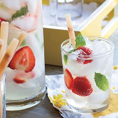 Cool, Refreshing Summer Drinks | Cava Sangria | SouthernLiving.com