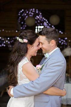 Min man och jag så lyckliga :)