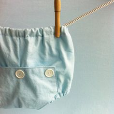 Baby Blue Long John Diaper Covers  Baby Boy by mabelretro on Etsy, $22.00